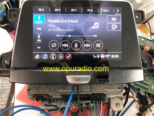 Verkabelungstester mit Emulator für 2019 2020 Cadillac XT4 Info 3.5 3.0 Car Navigation Carplay