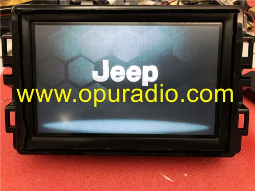 Fiat 500X 334 7in VP2 EMEA TUPFEN Uconnect Fiat 312 520 18-19 Jeep Grand Cherokee Continental VP2R Renagade tester