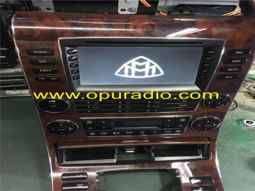 Reparatur Radio Einheit A2408206789 BE7026 Steuergerät Hohe MB Maybach 57 62 HMI Comand Navigation radio W240
